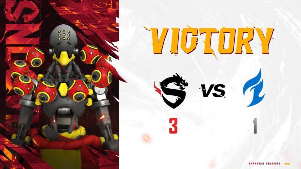 Shangai Dragons garante a final da Overwatch League 2021