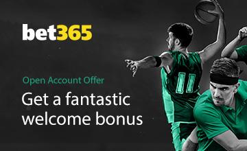Bet365 - Get your Bonus now!